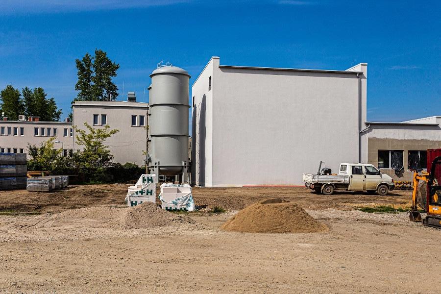 budynek wysokospawnej kogeneracji gazowej
