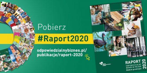 Raport odpowiedzialny biznes w polsce 2020 okladka