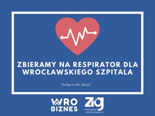 Wroclawski biznes pomaga szpitalom